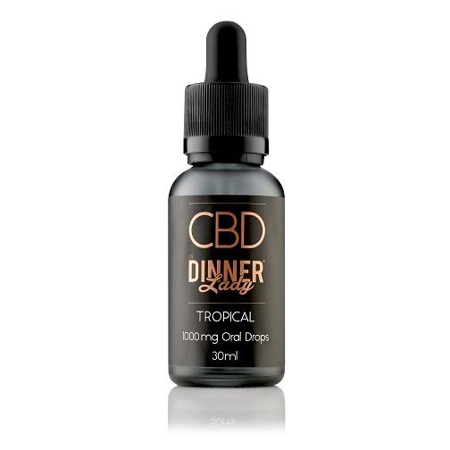 Dinner Lady CBD Tropical Oral Drops 30mL
