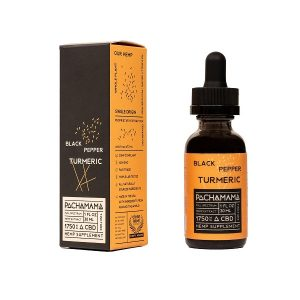 Pachamama Detox Black Pepper Turmeric CBD Tincture 30ml