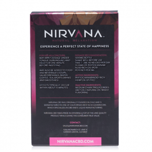 Nirvana Broad Spectrum Grapefruit CBD Tincture 30mL