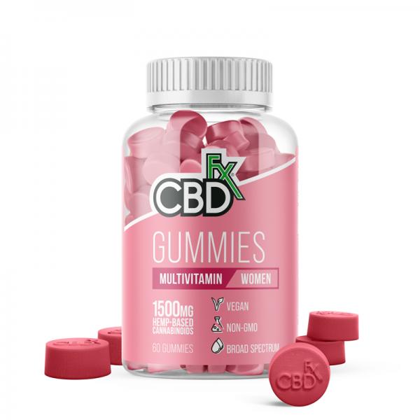 CBDfx Broad Spectrum CBD Gummies Multivitamin For Women