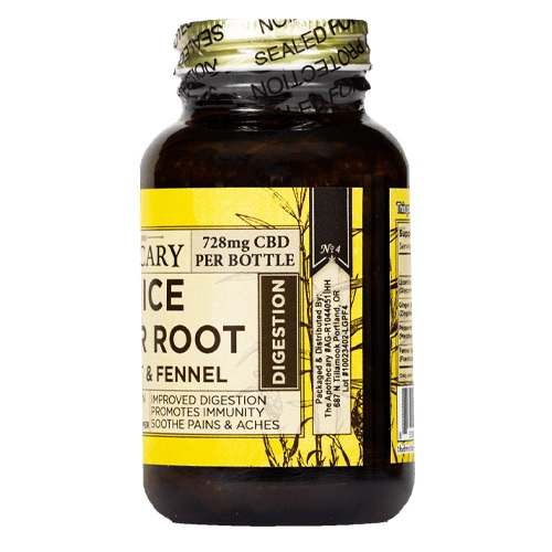 The Brothers Apothecary Digest well CBD Capsules- 728mg