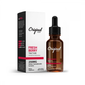 Original Hemp Fresh Berry Full Spectrum CBD Tincture 30mL