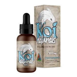 Koi Naturals Peppermint Full Spectrum Hemp Extract CBD Oil Tincture 500mg