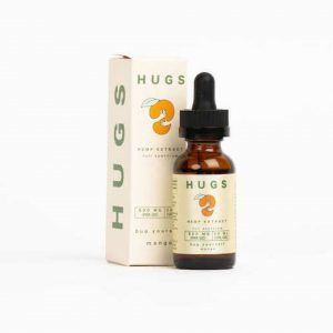 HUGS Mango Full Spectrum Hemp Extract Tincture 500mg
