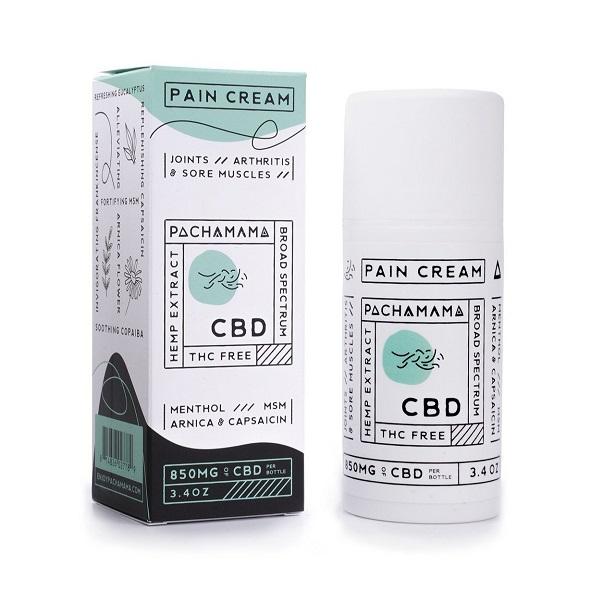 Pachamama Broad Spectrum CBD Pain Cream