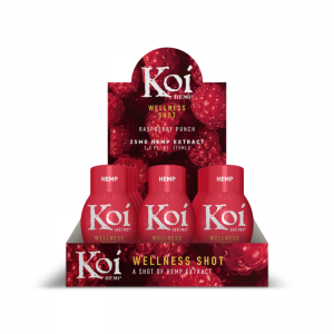 Koi Hemp Extract CBD Wellness Shots 25MG 2.5oz