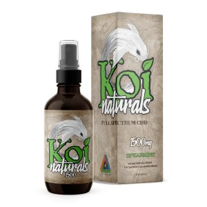 Koi Naturals Spearmint Full Spectrum Hemp Extract CBD Oil Tincture 1500mg