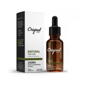 Original Hemp Natural Full Spectrum CBD Tincture 30mL