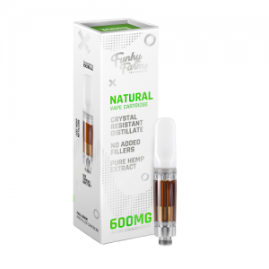 Funky Farms Reserve Line Broad Spectrum CRD Vape Cartridge 600MG