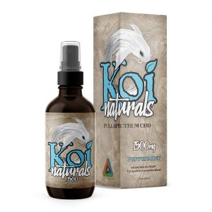 Koi Naturals Peppermint Full Spectrum Hemp Extract CBD Oil Tincture 1500mg