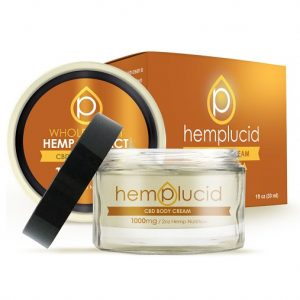 Hemplucid Full Spectrum CBDA Body Cream 1000mg