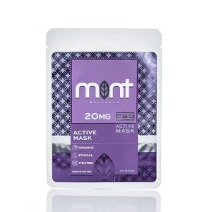 Mint wellness CBD Active Face mask