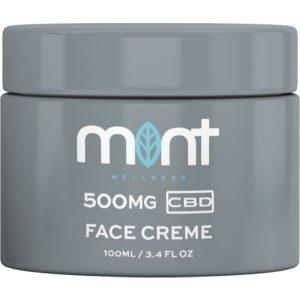 Mint wellness CBD Face Cream 500mg