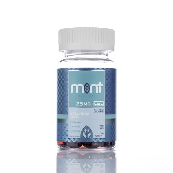 Mint wellness wellness gel capsules 750mg