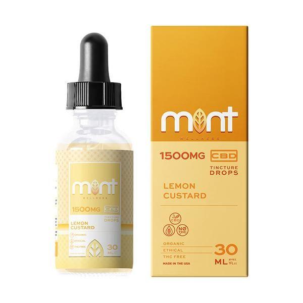 Mint wellness CBD Lemon custard Tincture 30ml