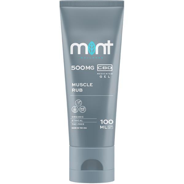 Mint wellness CBD Rub Gel 100ml