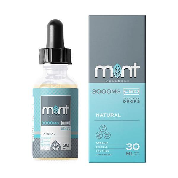 Mint wellness CBD natural Tincture 30ml