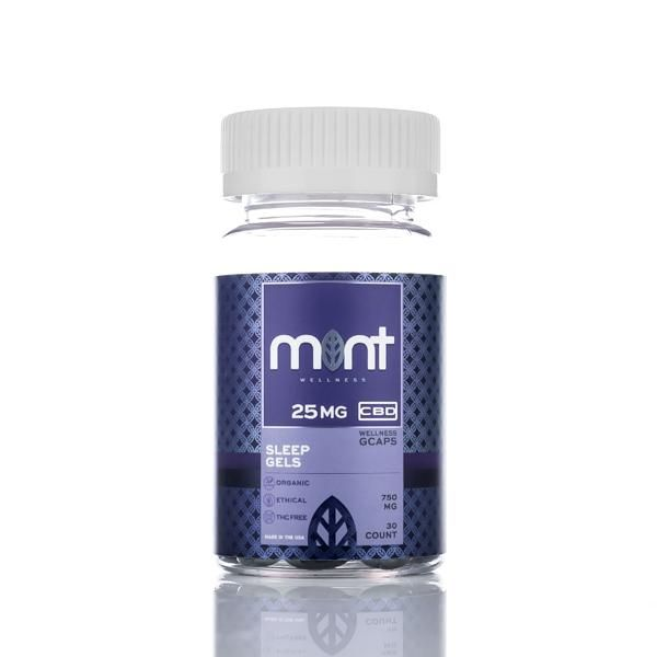 Mint wellness wellness CBD sleep gels Capsules