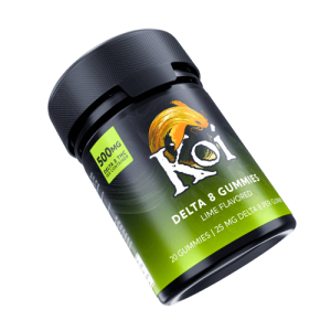 Koi Delta 8 Lime Gummies 500mg