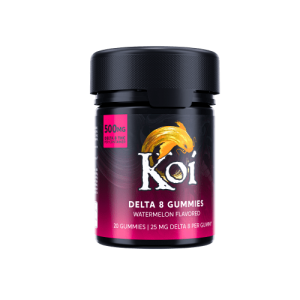 Koi Delta 8 Watermelon Gummies 500mg