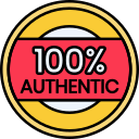100% Authentic Products