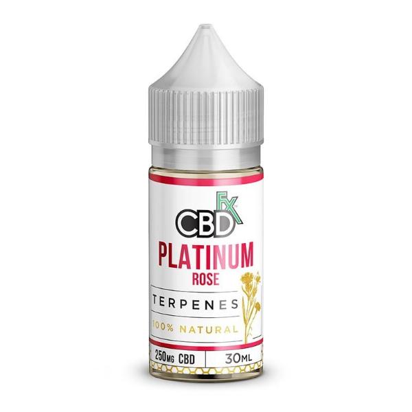 CBDfx Platinum Rose CBD Terpenes Oil Vape Liquid 30ml