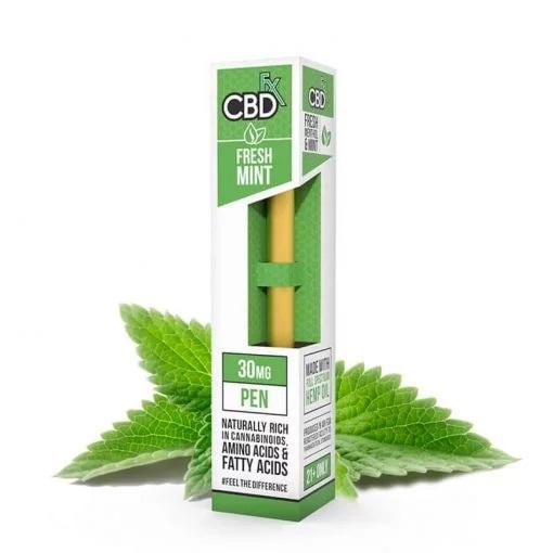 CBDfx Broad Spectrum CBD Disposable Vape Pen Fresh Mint 30MG