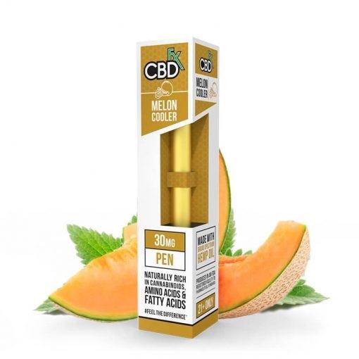 CBDfx Broad Spectrum CBD Disposable Vape Pen Melon Cooler 30MG