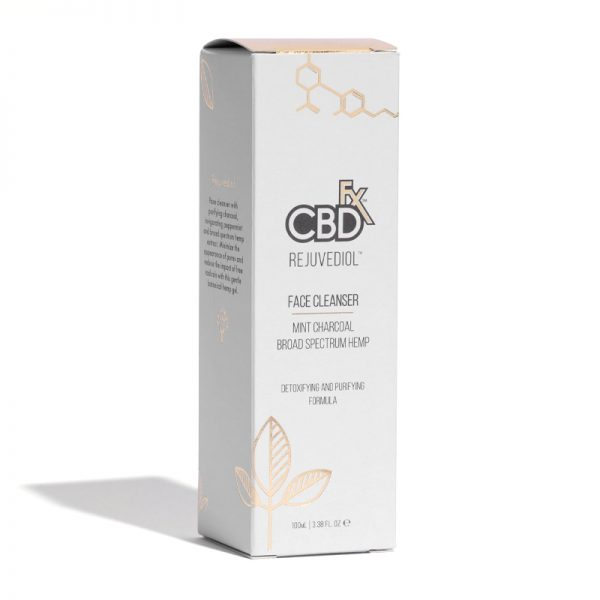 CBDfx Broad Spectrum Rejuvediol CBD Face Cleanser