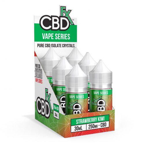 CBDfx CBD Vape Juice Strawberry Kiwi 30mL
