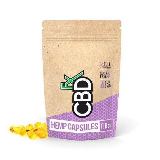 CBDfx Full Spectrum CBD Hemp Capsules
