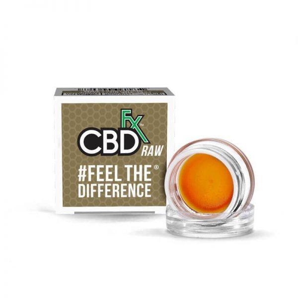 CBDfx Full Spectrum CBD Wax Raw Concentrated Dabs
