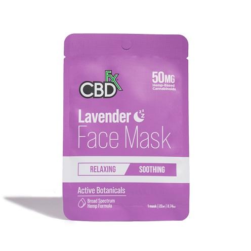 CBDfx Broad Spectrum CBD Face Mask 20MG
