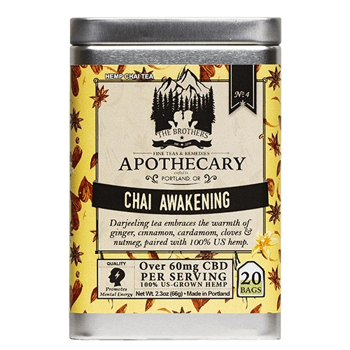 The Brothers Apothecary Chai Awakening Hemp CBD Tea