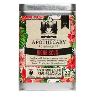 The Brothers Apothecary Highbiscus Hemp CBD Tea - 1 Pack