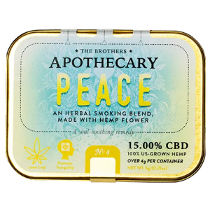 Hemp CBD Flower Smoking Blend Front