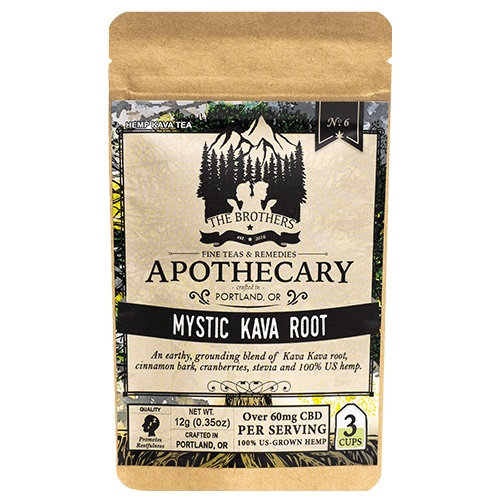 The Brothers Apothecary Mystic Kava Root Hemp CBD Tea