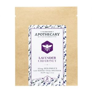 The Brothers Apothecary Lavender CBD Honey