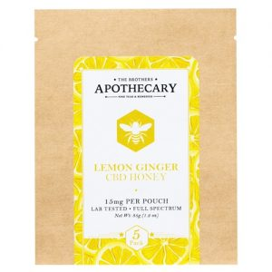 The Brothers Apothecary Lemon Ginger CBD Honey