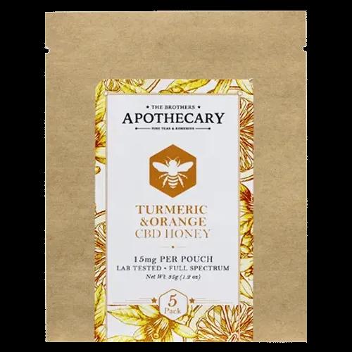 The Brothers Apothecary Orange Tumeric CBD Honey
