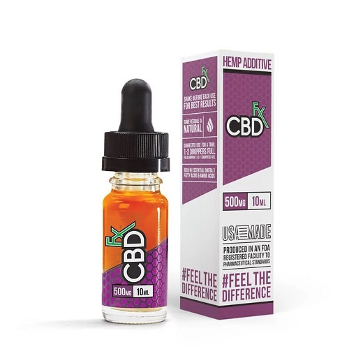 CBDfx Hemp CBD Vape Oil Additive 10mL