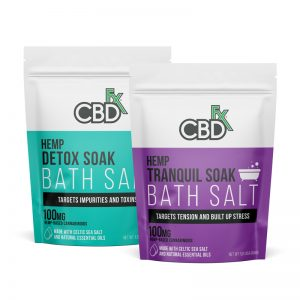 CBDfx HEMP CBD Bath Salt