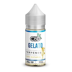 CBDfx Gelato CBD Terpenes Oil Vape Liquid 30mL