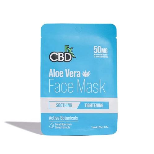 CBDfx Broad Spectrum CBD Face Mask 50MG