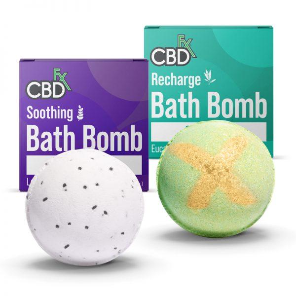 CBDfx CBD Bath Bombs
