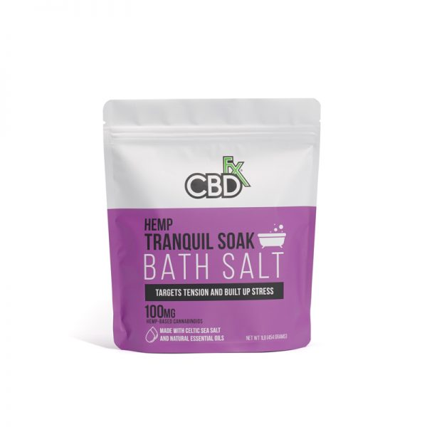 CBDfx HEMP CBD Bath Salt 100mg