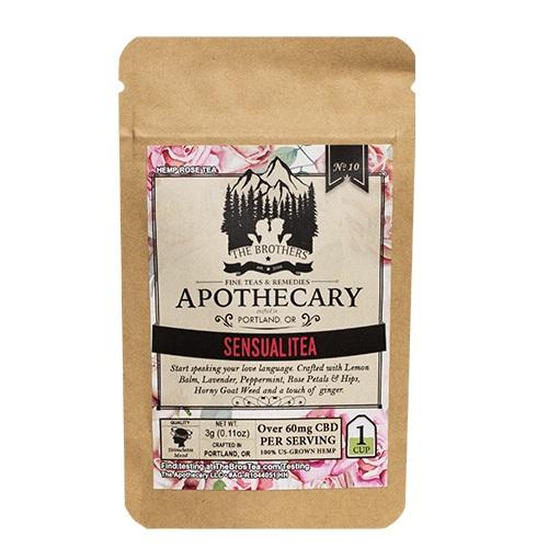 The Brothers Apothecary Sensualitea Hemp CBD Tea