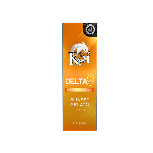 Koi Delta 8 Sunset Gelato Disposable Vape Bar