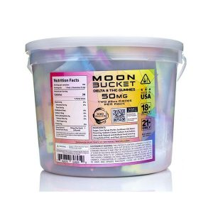 Moon Babies Starberry Delta 8 Gummies Bucket