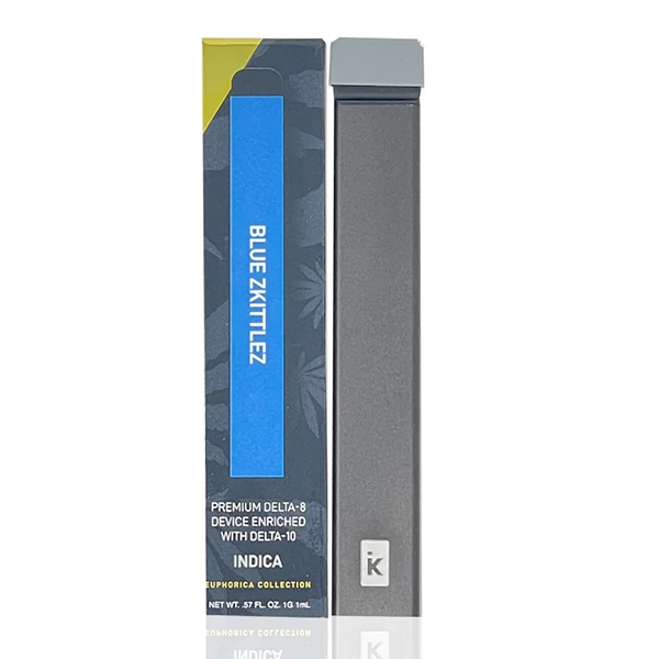 Delta Effex Blue Zkittlez Delta 10 Indica Disposable Vape Device